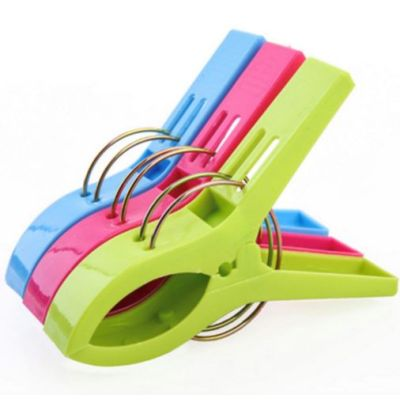 Hot Selling Promotion Strong Large Size Plastic Beach Towel Clothes Clips