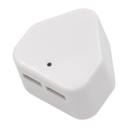 White 2 Dual USB port 5V 2.1A South Africa USB charger