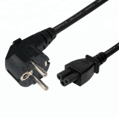 Eu 3p plug to IEC C5 french standard power cord electrical plug power cord