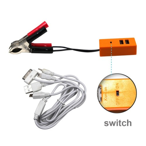 Quick Waterproof 12V Dual Usb Ports Car Assesories Motorcycle Battery Phone Usb Charger Motorcycle