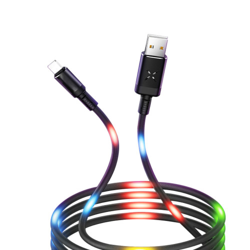 Fast Quick Charging Voice Control LED Night Light Charger USB Cable