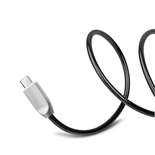 Colorful New Design Black Micro Charger Fast Charging Zinc Alloy Data Metal Cheap Cell Phone Usb Cable