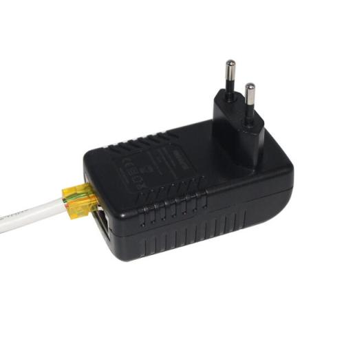 Wall PoE Injector Power Over Ethernet Adapter 48V 24W 0.5A for Security IP Cameras IP Phones