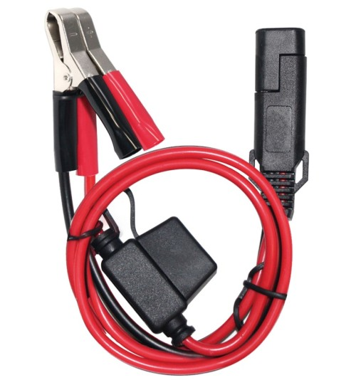6FT 15A Fused Car Auto Battery Terminal Clip 12V DC Cigarette Lighter Socket Adapter