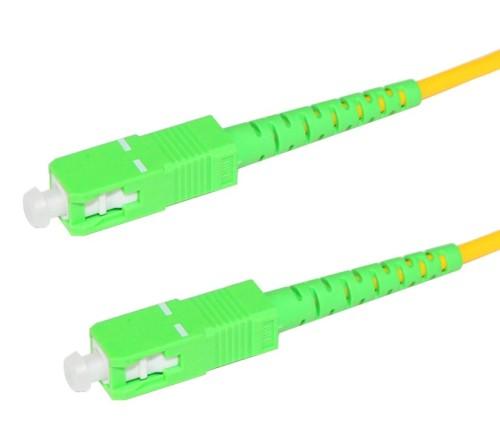 1.5m SC/APC to SC/APC Fiber Patch Cable Singlemode APC Duplex 9/125 OS1 SM optical fiber patch cord