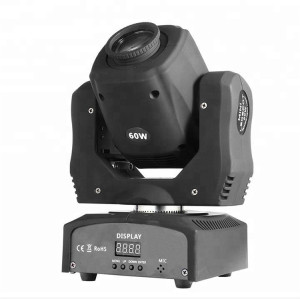 led moving head light spot 60w