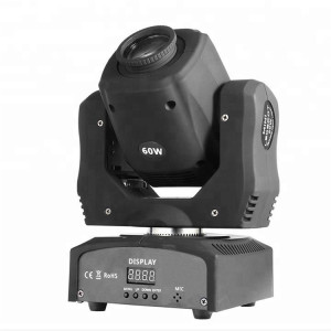 Mini Sharpy 60W LED RGBW Wash Beam Stage Moving Head Light