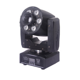Mini LED Moving Head Light 30w Spot 6*8w Wash