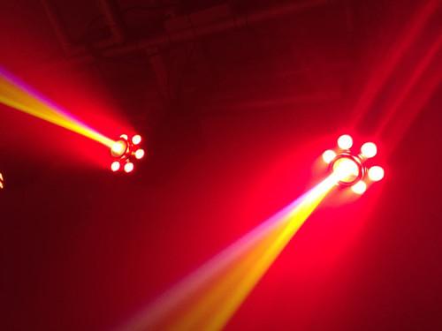 Mini LED Moving Head Light 30w Spot 6*8w Wash