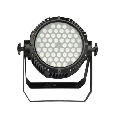 Outdoor LED Par Can Light 54*3w RGB 3in1 Waterproof IP65 Full Color