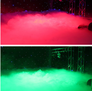 Low Lying Fog Machine 3000W Water Mist Ground Smoke Making Machine