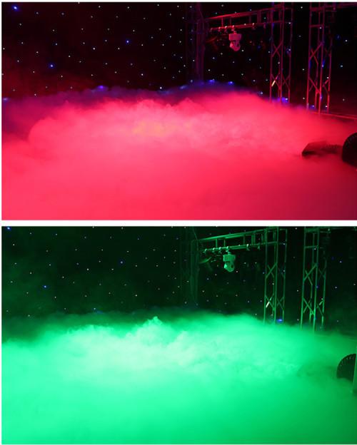 Low Lying Fog Machine 3000W Water Mist Ground Smoke Making Machine
