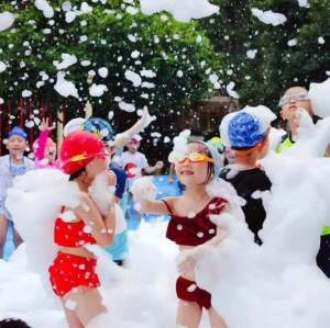 Big Power Output 3000W Summer Children Party Foam Cannon Machine