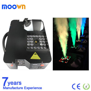 Stage Effect 1500W RGB Haze Smoke LED up Fog Machine