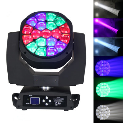 Big bee eye LED Moving Head Light 19*15w RGBW