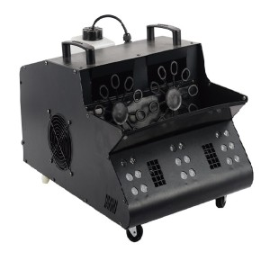 Stage Equipment 1200W LED DMX512 Bubble Smoke Machine