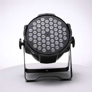LED Par Can Light 54*3w RGB 3in1 Full Color RGBW Indoor