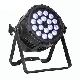 Outdoor IP65 DMX512 RGBW 18*12W 4in1 LED PAR Light
