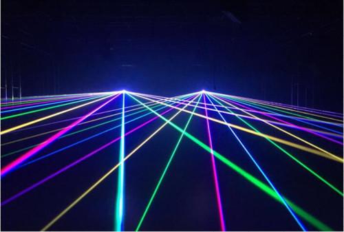5W RGB Full Color DMX Animation Stage Laser Light