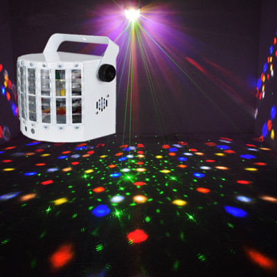 Mini Colorful Home Stage LED Laser Disco Lighting