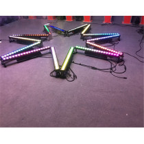Outdoor 18*12W RGBW 4in1 Wall Washer LED Bar DMX Light