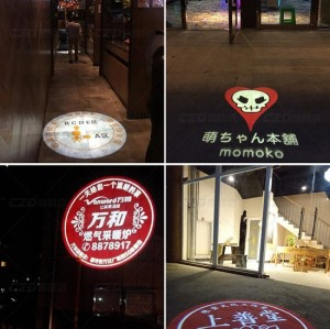 Outdoor Rotation Gobo Projector LED Advertising Light