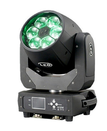 6*40W RGBW 4in1 BEE-EYE Zoom Wash LED Moving Head Light