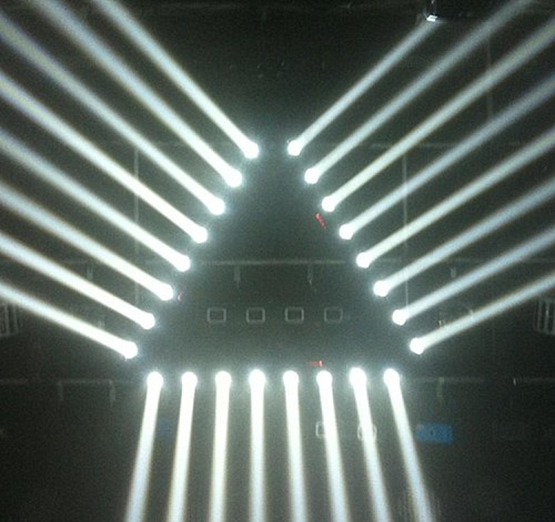 8 Eyes Wedding Moving Bar 8*10w 4in1 RGBW LED Beam Moving Head Light