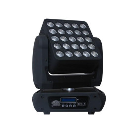 RGBW 4in1 LED 25*15W Wash Zoom Beam Moving Head Matrix Light