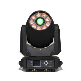 120W Gobo Spot + 9*12W Wash LED Moving Head Light