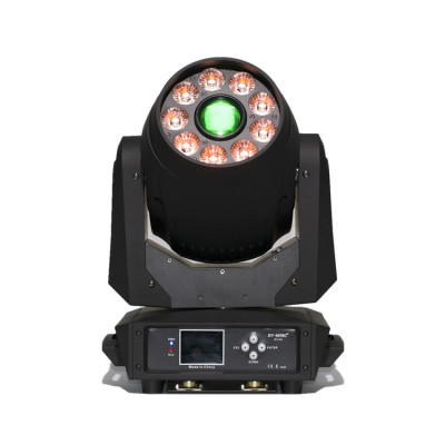 120W Gobo Spot + 9*12W Wash LED Moving Head Light