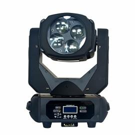 Stage Lighting Equipment 4x25w LED Super Beam Moving Head Light