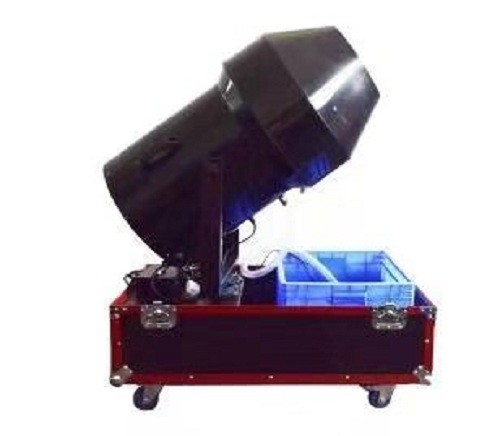 Portable 3000W Fly Case Integrated Foam Party Machine