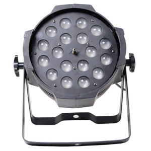 RGBWA+UV 6in1 Zoom DMX512 LED Stage Wash Light 18*18W LED Par Light