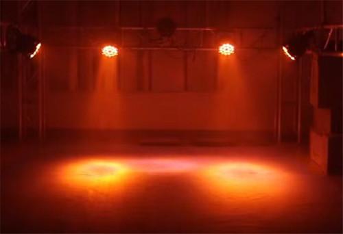 RGBWA+UV 6in1 Zoom DMX512 LED Stage Wash Light 18*18W LED Par Light