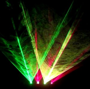 Good and Cheap Laser DJ Lighting Full Color 4 Head Laser Light