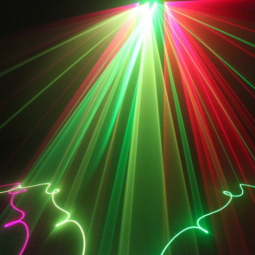 Good and Cheap Laser DJ Lighting Full Color 4 Head Laser Light
