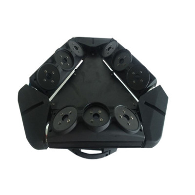 9 Heads RGB High Power Spider Beam Moving Head Laser Light