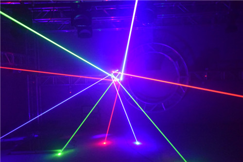 9 Heads RGB High Power Spider Beam Moving Head Laser Light