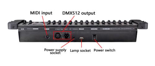 384 Channel DMX 512 Controller Stage DJ Light DMX 512 Console