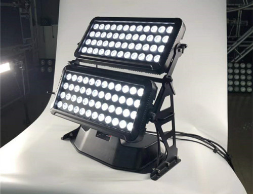 Outdoor 72*10W RGBW 4in1 LED Wall Washer Light