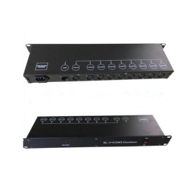 8 Channels DMX512 Signal Amplifier Multi Ports