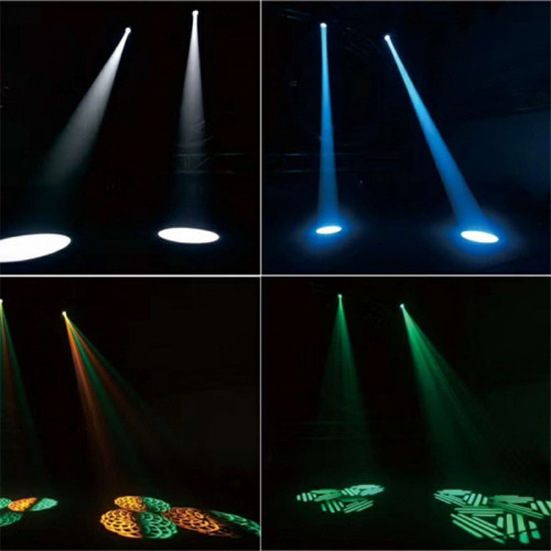 200W Beam Wash Spot 3in1 LED Moving Head Light Dj Lighting