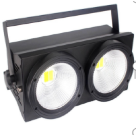 2 Eyes Stage Light LED 200W COB Audience Matrix Blinder