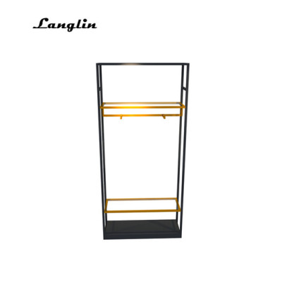 Langlin Stainless Steel Clothing Display Rack