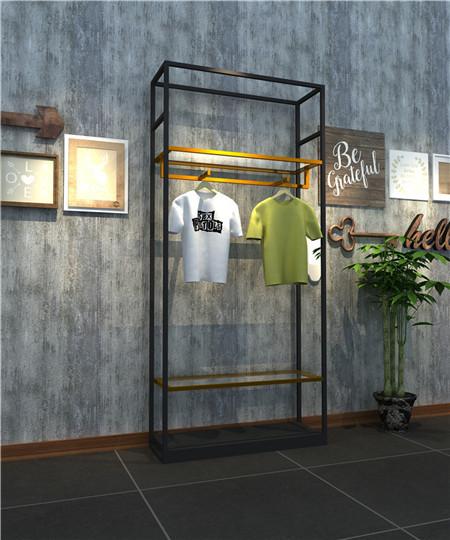 Langlin Stainless Steel Clothing Display Rack