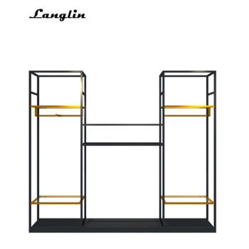 Unique mental assemble  High cabinet for retail