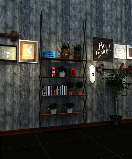 Boutique business Display shelf for retail