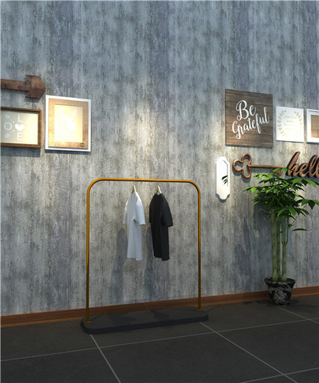 High end customizable clothing display rack clothing retail store