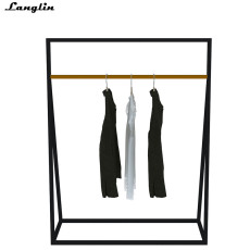 Stainless steel custom clothing display cabine